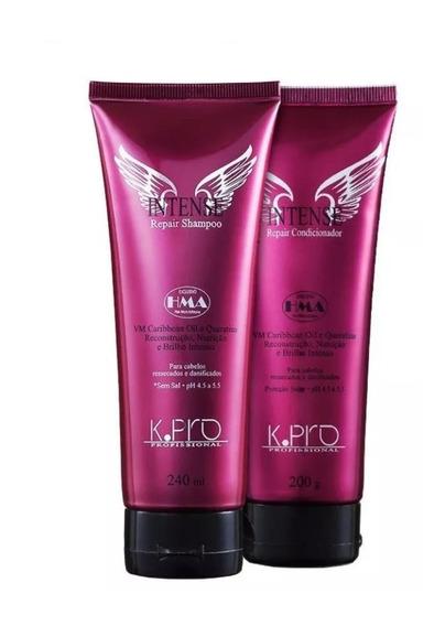 K.pro Intense Repair Kit Shampoo E Condicionador + Brinde
