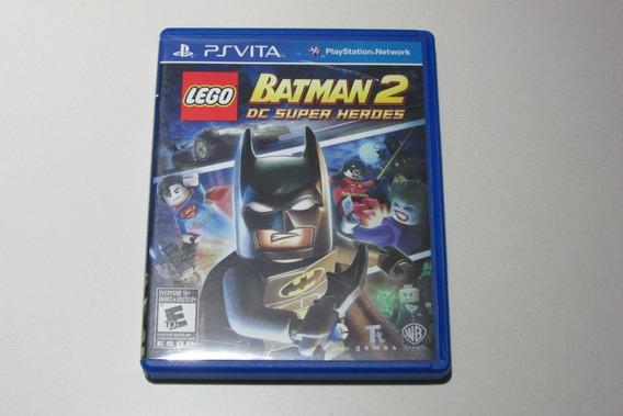 Jogo Lego Batman 2 - Dc - Ps Vita - Mídia Física - Usado