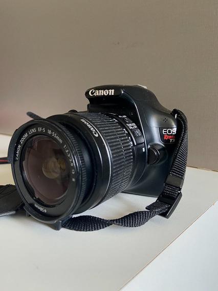 Canon Eos T3 Rebel + 18-55mm (kit Lens)
