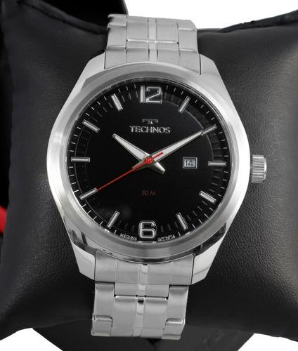Relógio Technos Masculino Prata Performer