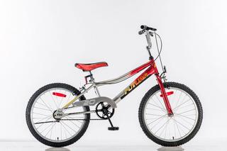 Bicicleta Futura R 20 Bmx Unisex Cromada