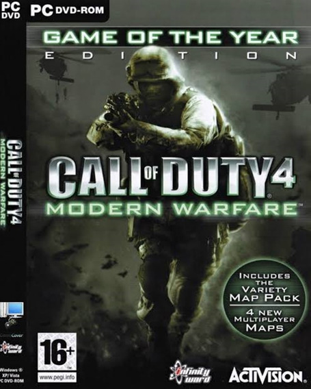 Call Of Duty 4 Modern Warfare Pc Envio Digital