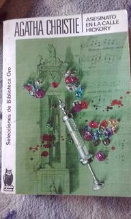 Libro Agatha Christie, Asesinato En La Calle Hickory