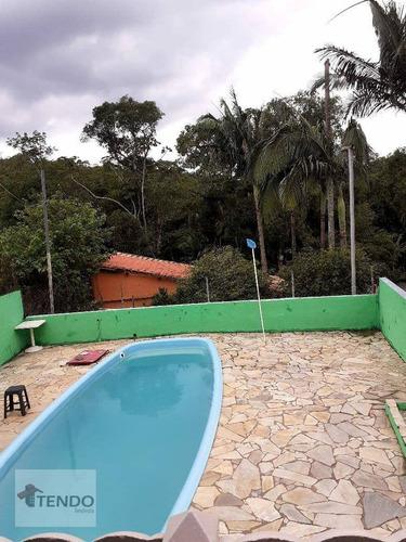 Imagem 1 de 28 de Chácara 250 M² - Venda - 2 Dormitórios - Chácara Sete Cruzes - Suzano/sp  - Ch0060