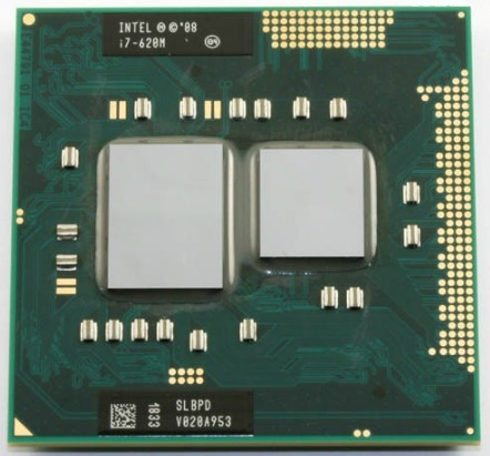 Processador Notebook Intel Core I7-620m 2.66ghz L3 4m