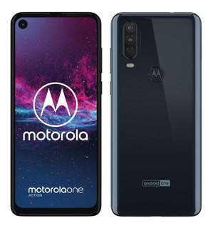 Celular Motorola One Action 4gb+128gb Grey Gtia Sellado Of