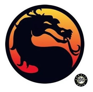 Adesivo Mortal Kombat A Pronta Entrega
