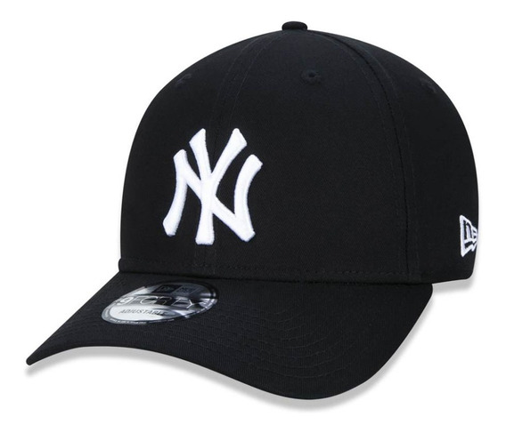 Boné New Era Aba Curva New York Yankees Preto Mbv19bon059