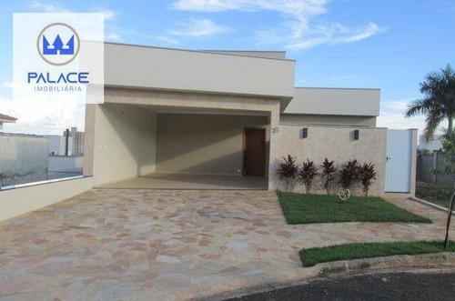Casa Nova Com 3 Suítes E Área De Lazer Em Condomínio Fechado - Ca0869