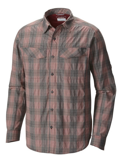 Exclusiva Camisa Columbia Plaid 3xt Red Element