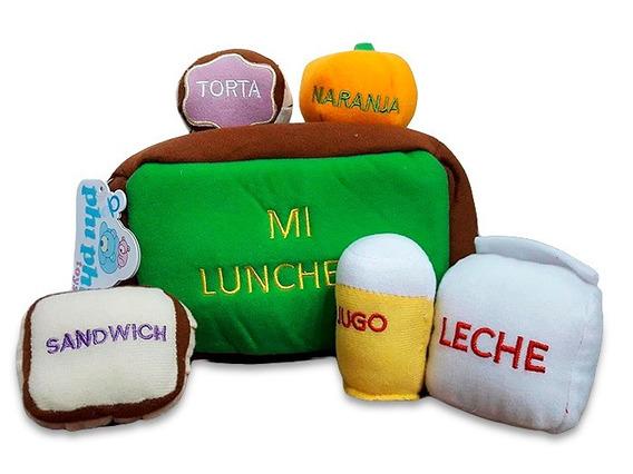 Lunchera De Peluche Comidas Con Accesorios Ploppy 370710