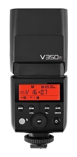 Flash Godox V350f Para Fuji / Fujifilm Cameras + Bateria