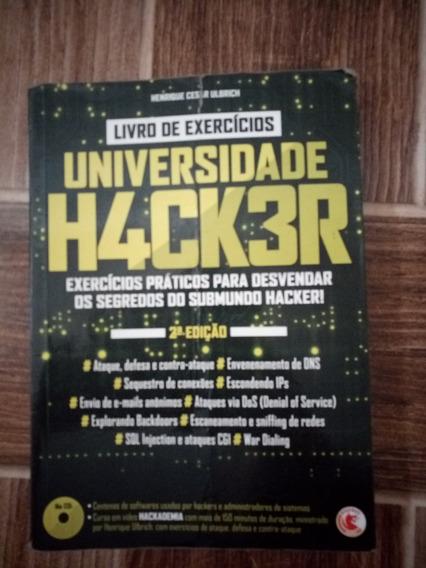 Livro Universidade Hacker (em Bom Estado).