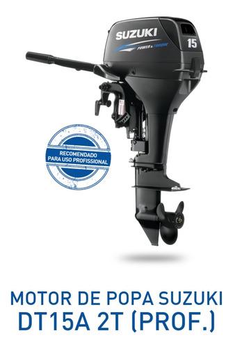 Motor De Popa 15 Hp Suzuki 0km 2021  12 X Miami Nautica