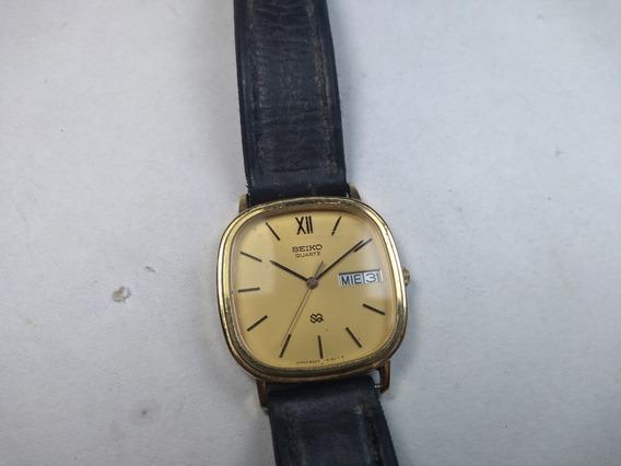 Relógio Seiko Quartz Japan 8223 Unissex Masculino Feminino