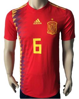 Jersey España Mundial 2018 A. Iniesta Climachill