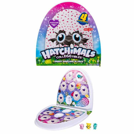 Hatchimals Collegtibles Sweet Smelling 16 Pack Con Olor