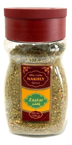 Zaatar Palestino Premium, Mezcla De Especies, 100 Gr (zatar)