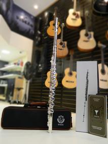 Flauta Transversal Em Dó Eagle Prat (fl-03s) Nf Fgrátis 12x