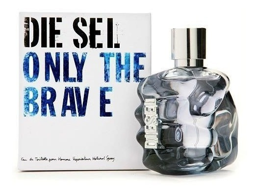 Frasco Original Do Perfume Diesel Only The Brave 50ml