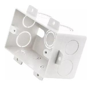 Caja De Luz Pvc Embutir Rectangular Para Durlock 5x10