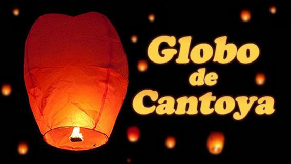 10 Pzs De Globos De Cantoya