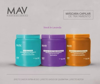 6 Mascaras Acida, Hialuronico Y/o Maracuya X 1kg C/u Mav