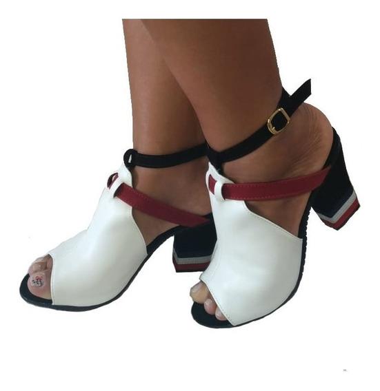 Sandalia Tamanco Feminino Tipo Bota 2 Modelos Em 1