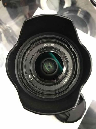 Lente Sony 28mm F2