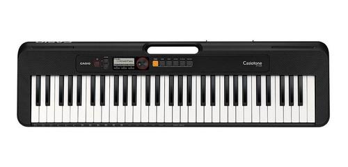 Imagen 1 de 10 de Teclado musical Casio Casiotone CT-S200 61 teclas Negro