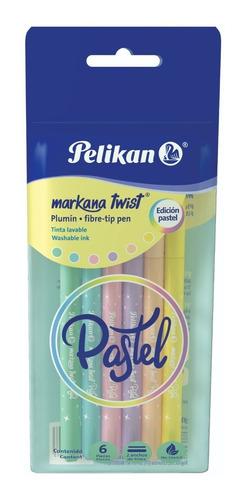 Marcadores Markana Twist Pastel