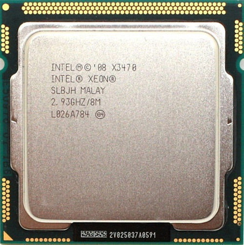 Processador Core I7 880 = X3470 3.60ghz 1156 + Pasta Térmica