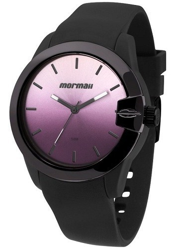 Relógio Mormaii Feminino Pulseira Silicone Original Barato