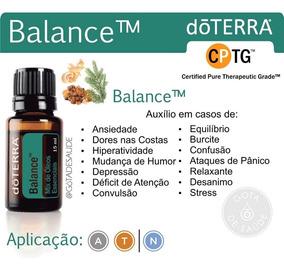 Óleo Essencial Doterra Balance 15 Ml Original E Puro