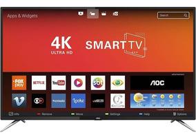 Smart Tv Led 50 Polegadas Aoc Le50u7970s Hd 4k Wi-fi 4 Hdmi