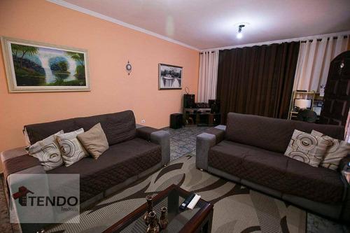 Imagem 1 de 29 de Imob01 - Sobrado 205 M² - Venda - 4 Dormitórios - 1 Suíte - Parque Selecta - São Bernardo Do Campo/sp - So0030