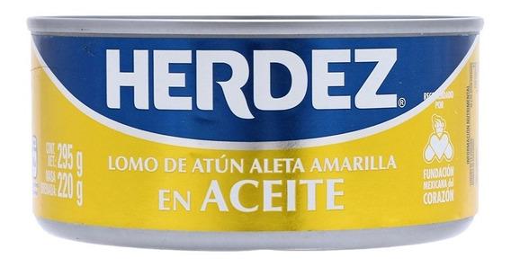 Lomo De Atún En Aceite Herdez 295grs.