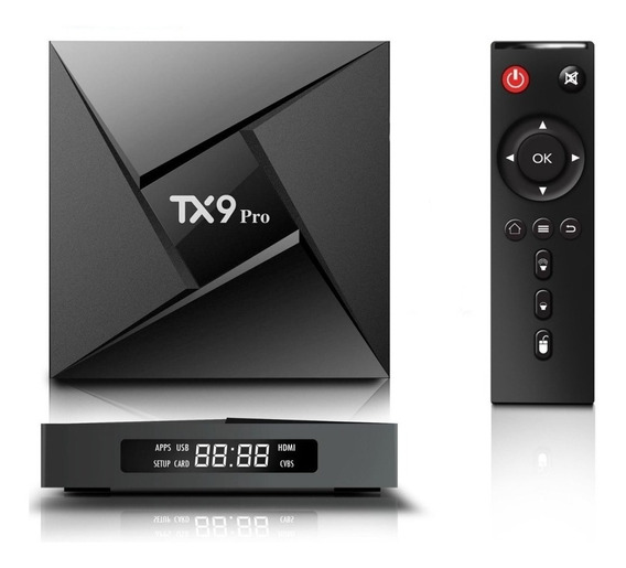 Tx9 Pro 4k 8 Core 3gb Ram Wifi Dual Band Bluetooth Portugues