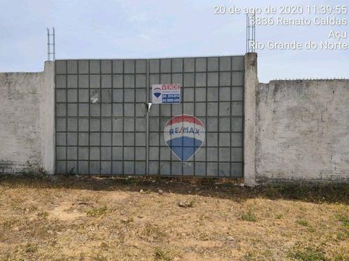Terreno Em Açu À Venda, 5212 M²  - Alto São Francisco - Açu/rn - Te0090