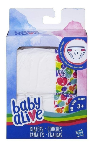 Imagen 1 de 2 de Baby Alive Muñecas 6pk Juguetes Hasbro Original