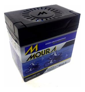 Bateria Moto Honda Nxr 150 Bros Es Flex 2013 - Moura Ma5-d