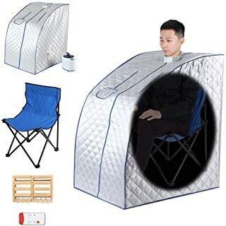 Sauna Portatil Armable - Digital Reductor Vapor Adelgazante