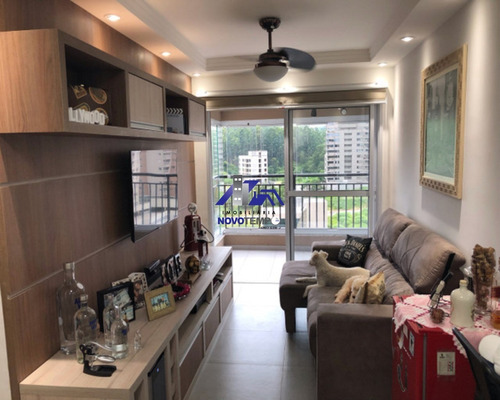 Imagem 1 de 6 de Apartamento A Venda Em Alphaville Com 2 Dorms E 2 Vagas - Ap00913 - 69229916