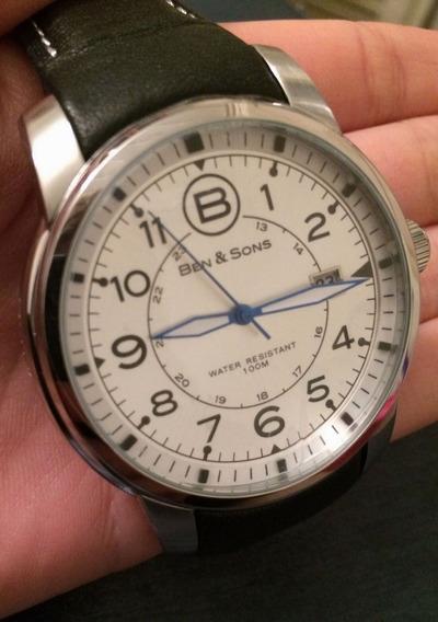 Relógio Social Ben And Sons Bs-10006-02s