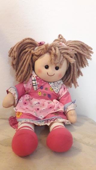 Muñeca De Trapo Para Niñas Suave Juguetes