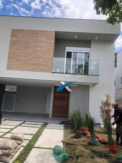 Sobrado 3 Suítes E Piscina À Venda No Condomínio Veredas Em Mogi Das Cruzes - Sp. Estuda Permuta - So0123
