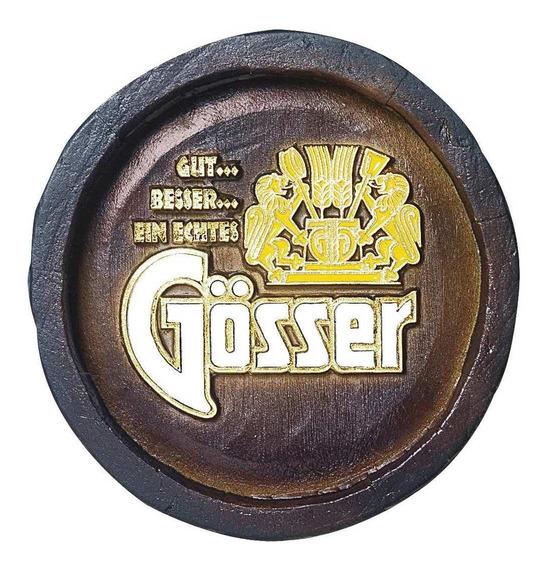 Barril Mini De Parede Em Resina - Gosser Cerveja