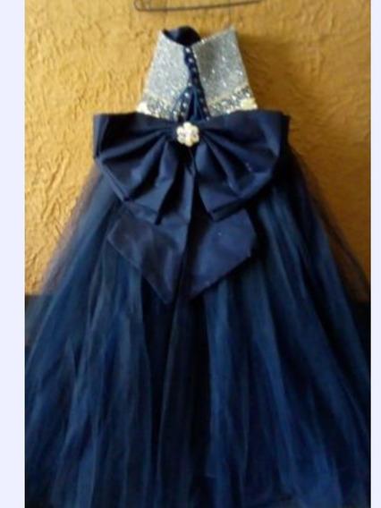 Oferta!!!! Vestido 15 Años Azul Marino