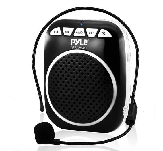 Pyle Parlante Megafono Pwma55 Portatil Microfono Usb Full