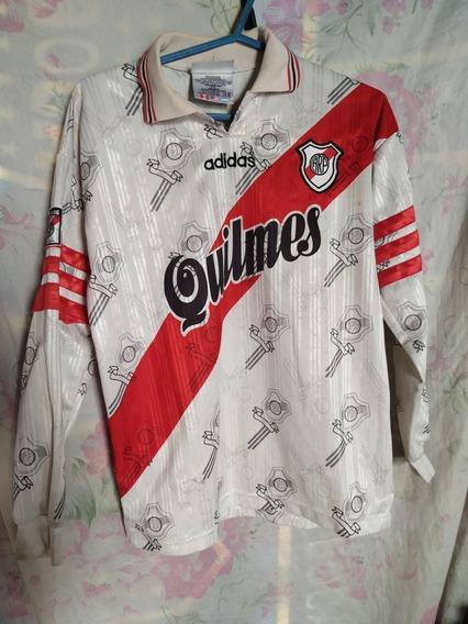 Camiseta De River Quilmes Tricampeonato 97 Mangas Largas